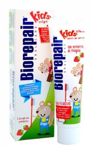 Купить Детская зубная паста 50мл цена