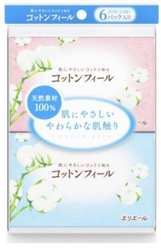 Купить Cotton feel салфетки бумажные (платочки) n10х6 цена