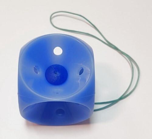 Купить Пессарий кубический с кнопкой перфорированный длина края 32мм/ арт wplk2 цена