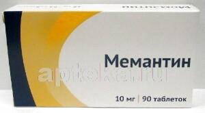 Купить МЕМАНТИН 0,01 N90 ТАБЛ П/ПЛЕН/ОБОЛОЧ/ОЗОН цена