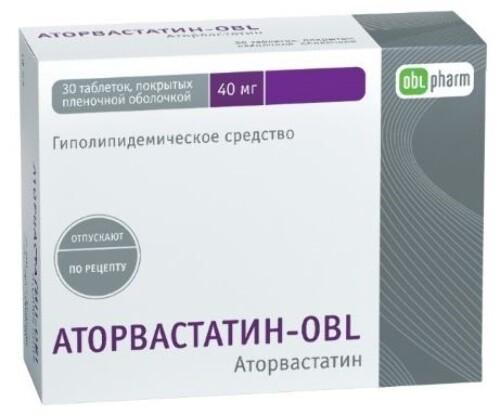Купить Аторвастатин-obl цена