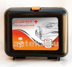 Аптечка первой помощи автомобильная дорожная медицина витал тип 02 пластик/50346