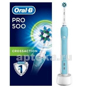 Купить Зубная щетка pro 500/тип 3756/с насадкой cross action электрическая цена
