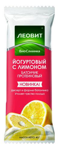 Купить Биослимика батончик протеиновый йогуртовый с лимоном 40,0 цена