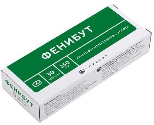 Купить Фенибут 0,25 n30 табл/фармвилар/ цена