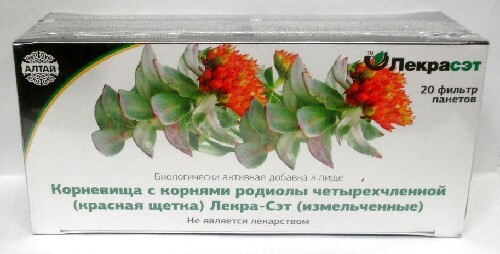 Купить Родиолы четырехчлен (красная щетка)корневища с корнями лекра-сэт цена