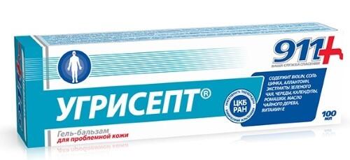 Купить 911 угрисепт гель-бальзам для проблемной кожи 100мл цена