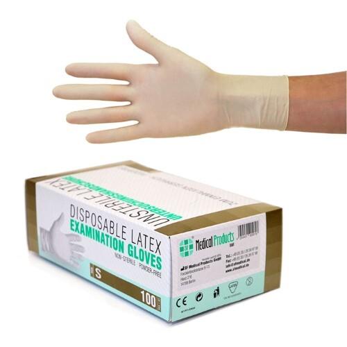 Купить Перчатки диагностические sf gloves виниловые нестерильные неопудренные n50 пар s цена