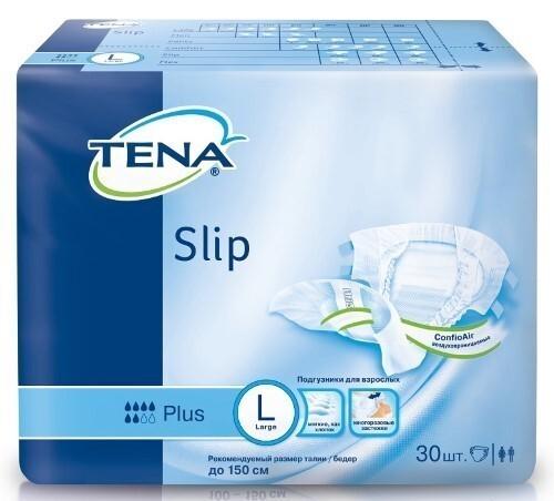 Slip plus подгузники для взрослых