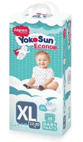 Купить YOKOSUN ECONOM ПОДГУЗНИКИ-ТРУСИКИ ДЕТСКИЕ РАЗМЕР XL /12-20КГ/ N38 цена