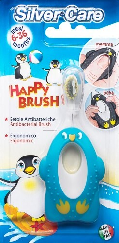 Купить Happy brush зубная щетка /6-36мес/ арт654 цена