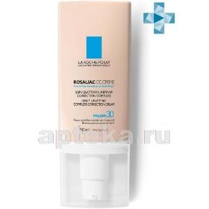 Купить Rosaliac cc creme корректирующий уход с тональным эффектом для кожи склонной к покраснениям spf30 50мл цена