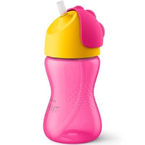 Купить Avent чашка-поильник с трубочкой для питья 12+ 300мл  цена