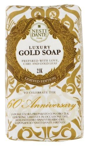 Купить 60° anniversario d'oro мыло юбилейное золотое 250,0 цена