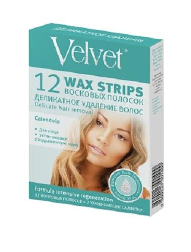 Купить Восковые полоски для лица деликатное удаление волос n12 цена