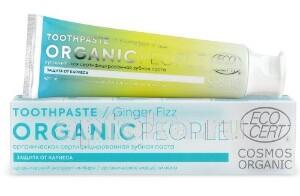 Купить Органическая сертифицированная зубная паста ginger fizz 85,0 цена