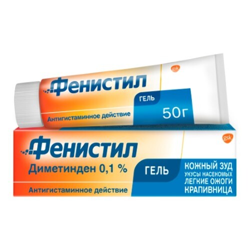 Купить ФЕНИСТИЛ 0,1% 50,0 ГЕЛЬ Д/НАРУЖ ПРИМ цена