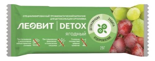 Купить Detox батончик детоксикационный ягодный 25,0 цена