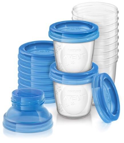 Купить Avent набор контейнеров для хранения грудного молока 180мл n10 (арт.84470/84480) scf618/10 цена