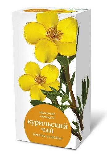 Купить Фиточай алтай курильский чай цвет/лист цена