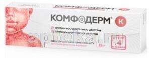 КОМФОДЕРМ К 0,1% 15,0 КРЕМ Д/НАРУЖ ПРИМ