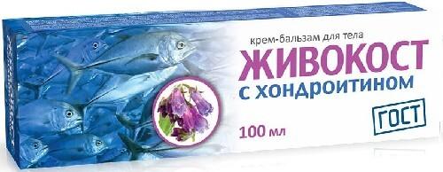 Купить Крем-бальзам для тела c хондроитином 100мл цена