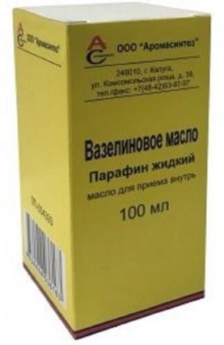 Купить Вазелиновое масло 100мл флак масло д/приема внутрь /аромасинтез/ цена