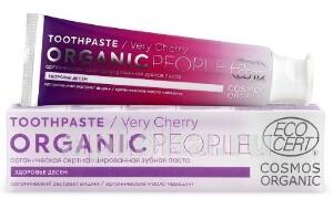 Купить Органическая сертифицированная зубная паста very cherry 85,0 цена