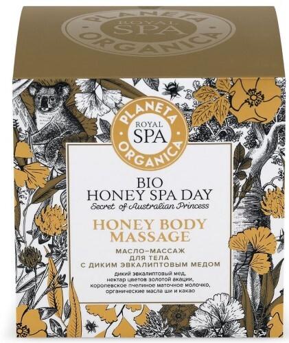 Купить Royal spa масло-массаж для тела с диким эвкалиптовым медом 300мл цена