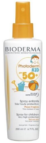 Купить Photoderm kid спрей spf 50+ 200мл цена