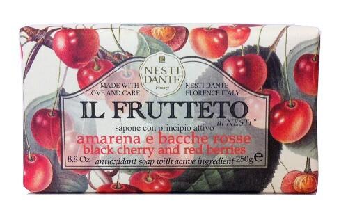 Купить Il frutteto мыло черешня и красные ягоды 250,0 цена
