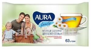 Купить Влажные салфетки family для всей семьи с антибактериальным эффектом n63 цена