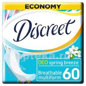 Купить Deo multiform весенний бриз ежедневные гигиенические прокладки n60 цена