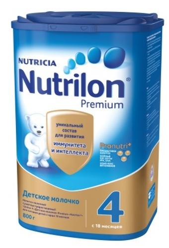 Купить NUTRILON-4 JUNIOR PREMIUM НАПИТОК СУХОЙ МОЛОЧНЫЙ 800,0 цена