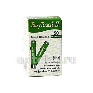 Купить Тест-полоски easy touch глюкоза n50 цена