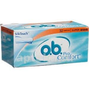 Купить Тампоны o.b. procomfort super n32 цена