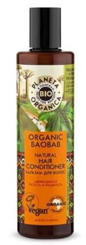 Купить Organic baobab бальзам для волос натуральный 280мл цена