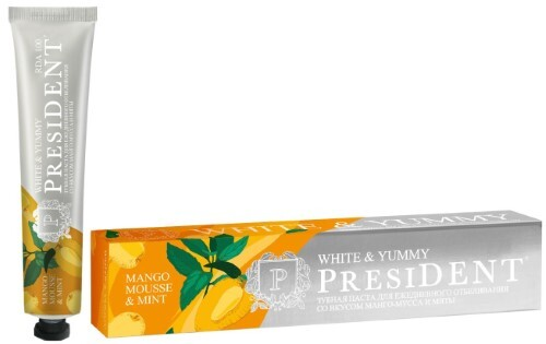 Купить White & yummy зубная паста манго-мусс с мятой 75,0 цена