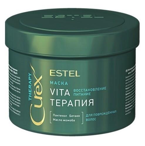 Beauty curex therapy маска для поврежденных волос vita-терапия 500мл