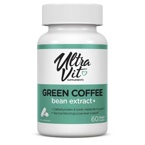 Купить Ультравит сапплементс грин кофе бин экстракт+ цена