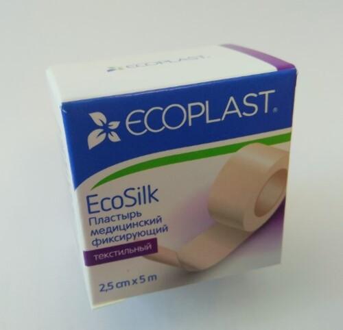 Купить Ecosilk пластырь медицинский фиксирующий цена