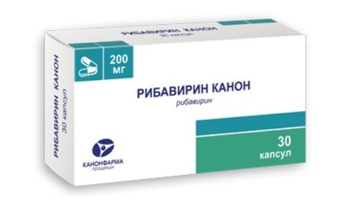 Купить Рибавирин канон 0,2 n60 капс цена