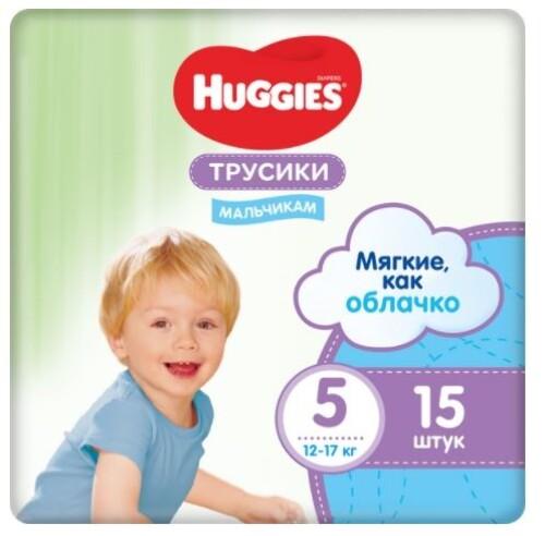 Купить HUGGIES ТРУСИКИ-ПОДГУЗНИКИ ДЕТСКИЕ ДЛЯ МАЛЬЧИКОВ РАЗМЕР 5 N15 цена