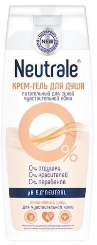 Купить Крем-гель для душа питательный для сухой чувствительной кожи 400мл цена