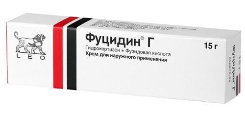 Купить ФУЦИДИН Г 15,0 КРЕМ цена