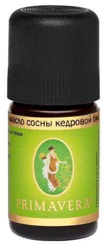Купить Масло эфирное сосны кедровой био 5мл/примавера лайф цена