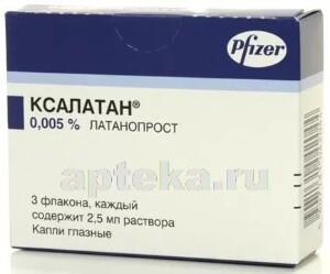 Купить Ксалатан 0,005% 2,5мл n3 гл капли флак/кап цена