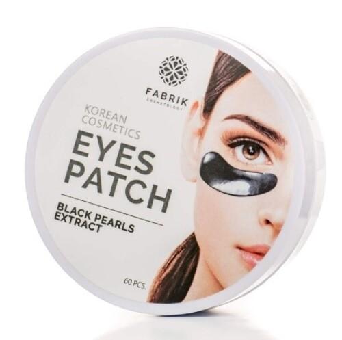 Купить Eyes patch black pearls extract патчи для области вокруг глаз с экстрактом черного жемчуга n60 цена