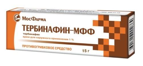Купить ТЕРБИНАФИН-МФФ 1% 15,0 КРЕМ Д/НАРУЖ ПРИМ цена