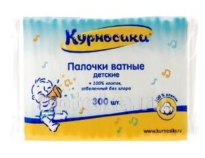 Купить Ватные палочки детские n300/пакет цена